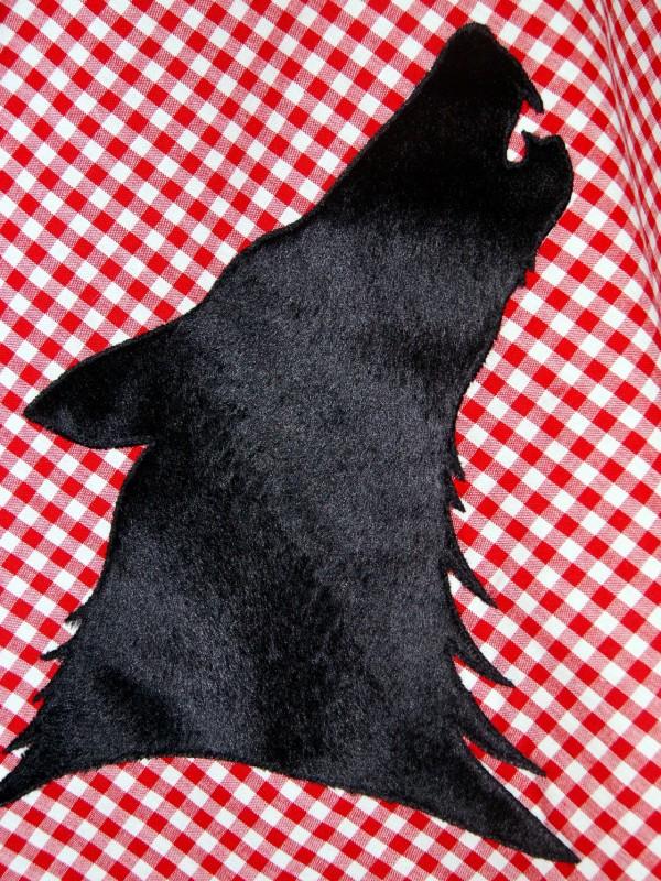 """Illustration: """"Rotkäppchen ruft"""""""